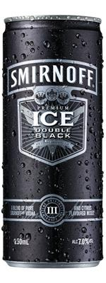 Smirnoff Ice Double Blk 7 12 Pack Cans 250ml